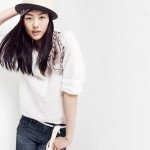 Liu Wen for Madewell Looks We Love Summer 2011 Collection