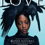 <em>LOVE</em> #6 Fall/Winter 2011 Cover | Nyasha Matonhodze by Mert & Marcus