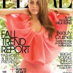 Mila Kunis in Lanvin for <em>FLARE&#8217;s</em> August 2011 Cover