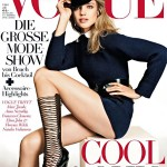 Natalia Vodianova in Louis Vuitton for <em>Vogue Germany</em> July 2011 (Cover)