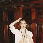 Beegee Margenyte by Greta Ilieva for <em>Exit </em> S/S 2011