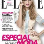 <em>Elle Brazil</em> July 2011 Cover | Caroline Trentini by Bob Wolfenson