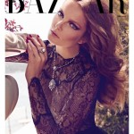 <em>Harper's Bazaar Turkey</em> August 2011 Cover | Eniko Mihalik by Koray Birand