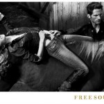 Shannan Click for Freesoul Fall 2011 Campaign by Yu Tsai