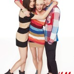 H&M Divided Fall 2011 Campaign | Tati Cotliar, Milou Van Groesen & Kori Richardson by Richard Bush