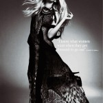 Clara Paget by Damon Baker for <i>InStyle UK</i>