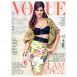 <em>Vogue Brazil</em> August 2011 Cover | Isabeli Fontana by Jacques Dequeker