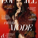 <em>L'Officiel</em> August 2011 Cover |  Jessica Miller by Satoshi Saikuska