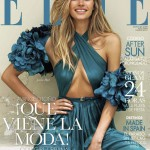 <em>Elle Spain</em> August 2011 Cover | Jessica Hart by Santiago Esteban