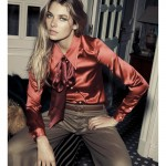 Jessica Hart by Santiago Esteban in Gucci for <em>Elle Spain</em> August 2011