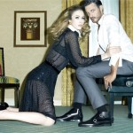 Raquel Zimmermann for Jimmy Choo Fall 2011 Campaign by Steven Meisel