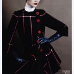 Ming Xi &#038; Caroline Brasch Nielsen by Daniel Jackson for <em>Vogue China</em> August 2011