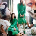 Mulberry Fall 2011 Campaign | Tati Cotliar & Julia Saner by Tim Walker