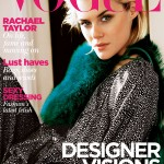 <em>Vogue Australia</em> August 2011 Cover | Rachael Taylor by Nick Leary