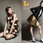 Codie Young, Ruby Aldridge, Kate King & Others by Terry Tsiolis for <i>V Spain</i> Summer 2011