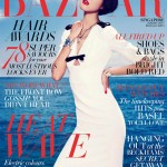 <em>Harper's Bazaar Singapore</em> August 2011 Cover | Emma Pei by Gan