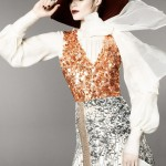 Sportmax Fall 2011 Campaign | JuJu Ivanyuk by David Sims