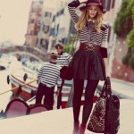 Marloes Horst for Free People August 2011 by Guy Aroch