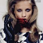 Anna Selezneva by Anthony Maule for <i>Vogue Russia</i> September 2011