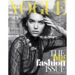 <em>Vogue Korea</em> September 2011 Cover  | Arizona Muse by Victor Demarchelier