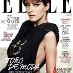 <em>Elle Spain</em> September 2011 Cover | Carmen Kass by Derek Kettela
