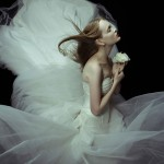 Alyona B & Nicole Volfova by Zhang Jingna for <em>SingaporeBrides</em> August 2011