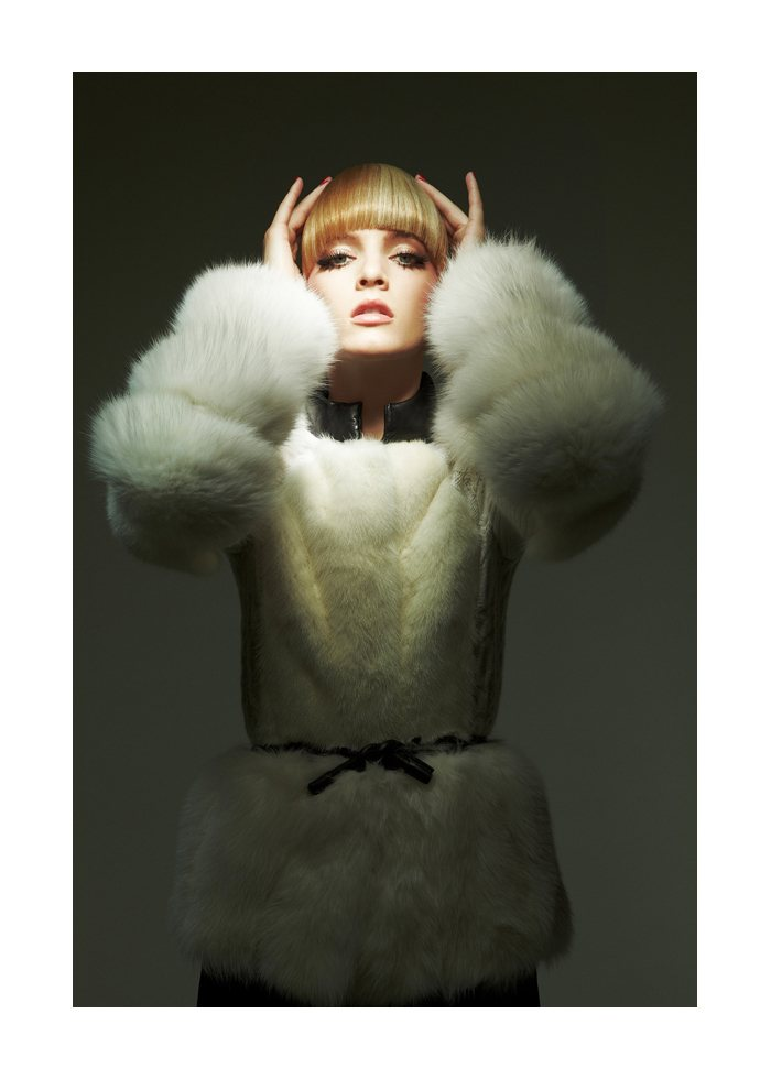 Daria Strokous by David Byun for W Korea August 2011
