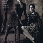 Miranda Kerr, Candice Swanepoel, Raquel Zimmermann & Others by Steven Meisel for <em>Vogue US</em> August 2011