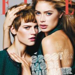 <em>Elle Netherlands</em> September 2011 Cover | Doutzen Kroes &#038; Saskia de Brauw by Alique