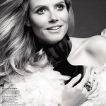 Heidi Klum by Robert Erdmann for <i>Harper&#8217;s Bazaar Russia</i> September 2011
