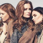 Charlotte Cordes, Dalia Günther & Yulia Petrova by Dirk Messner for Unger Fashion Fall 2011