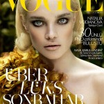 <em>Vogue Turkey</em> September 2011 | Natalia Vodianova by Cuneyt Akeroglu