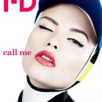 <em>i-D</em> Pre-Fall 2011 Cover | Natasha Poly by Willy Vanderperre