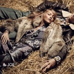 Sasha Pivovarova for Paul & Joe Fall 2011 Campaign