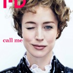 <em>i-D</em> Pre-Fall 2011 Cover | Raquel Zimmermann by Josh Olins