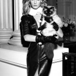 Angela Lindvall for Georges Rech Fall 2011 Campaign