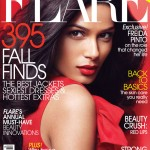 <em>FLARE</em> October 2011 Cover | Freida Pinto by Max Abadian