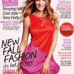 <em>Marie Claire US</em> September 2011 Cover | Sarah Jessica Parker by Tesh