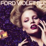 "Lara Stone for Tom Ford ""Violet Blonde"" Fragrance by Mert & Marcus"