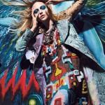 Freja Beha Erichsen &#038; Sasha Pivovarova by Mario Sorrenti for <em>W Magazine</em>
