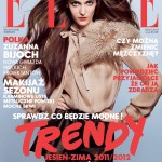 <em>Elle Poland</em> September 2011 Cover | Zuzanna Bijoch by Aldona Karczmarczyk