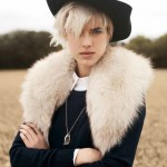 Agyness Deyn by Ben Weller for <i>Twin</i> #5