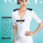 <em>Vogue Australia</em> October 2011 Cover | Arizona Muse by Kai Z. Feng