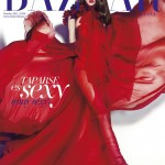 Aymeline Valade Covers <em>Harper's Bazaar Spain</em> October 2011 in Gucci