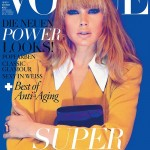 Doutzen Kroes Covers <em>Vogue Germany</em> October 2011 in Miu Miu