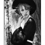 Edie Campbell by Tim Barber for <em>Muse</em> Fall 2011