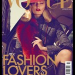 <em>Vogue Hellas</em> October 2011 Cover | Ieva Laguna by Koray Birand
