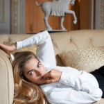 Jessica Hart by Eric Guillemain for <em>Vogue Australia</em> October 2011