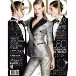 <em>Vogue Mexico</em> October 2011 Cover | Julia Stegner by David Roemer