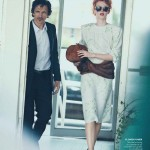 Karen Elson by Peter Lindbergh for <em>Vogue US</em> October 2011